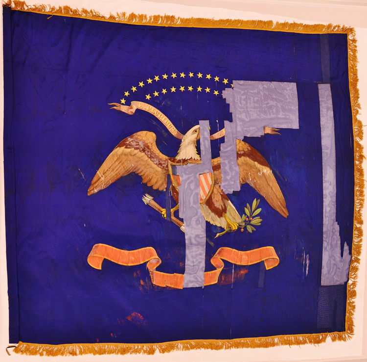 2nd Vermont Infantry, Regimental Flag 2 (1870,001.031).jpg